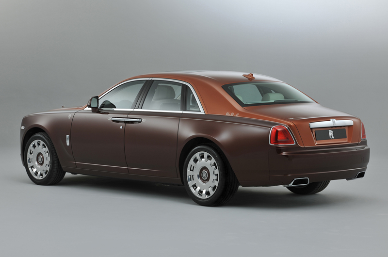 Rolls-Royce Ghost Mil y una noches 2012