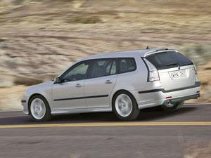 Foto Lateral Saab 9 3 Familiar 2007