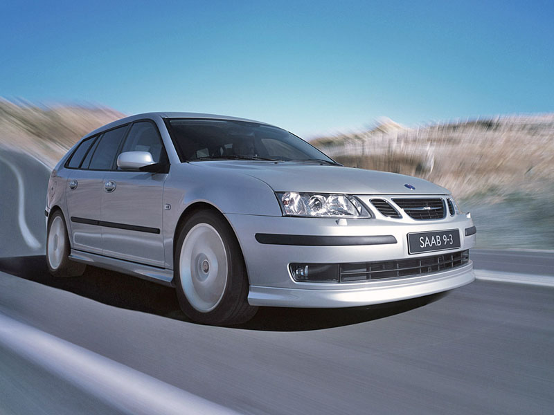 Foto Delantero Saab 9 3 Familiar 2007