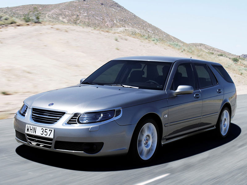 Foto Delantero Saab 9 5 Familiar 2009
