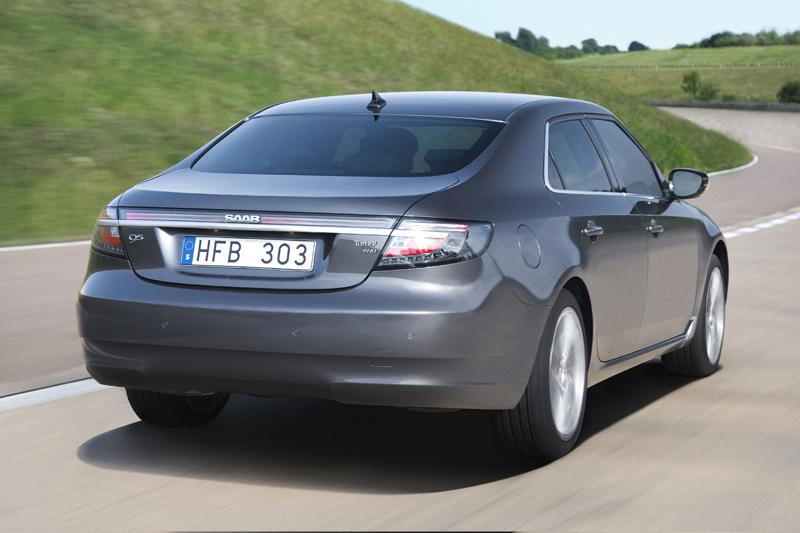 Foto Trasero Saab 9 5 Sedan 2010