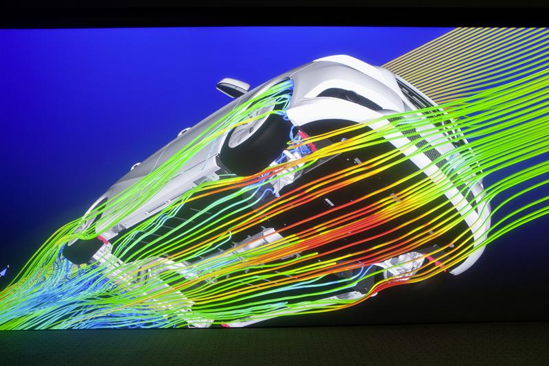 Estudio aerodinámico Mercedes Clase B 2011