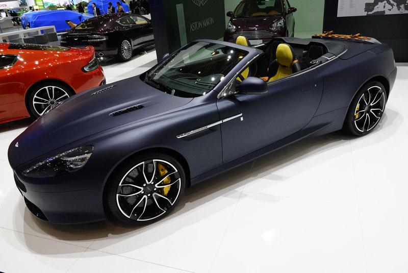 Foto Aston Martin Vantage Salones Salon Ginebra 2012