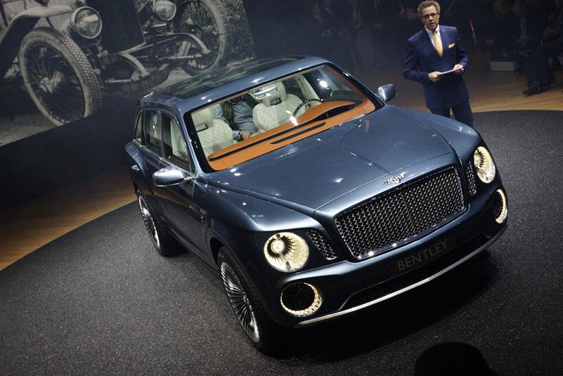 Foto Bentley Exp Salones Salon Ginebra 2012