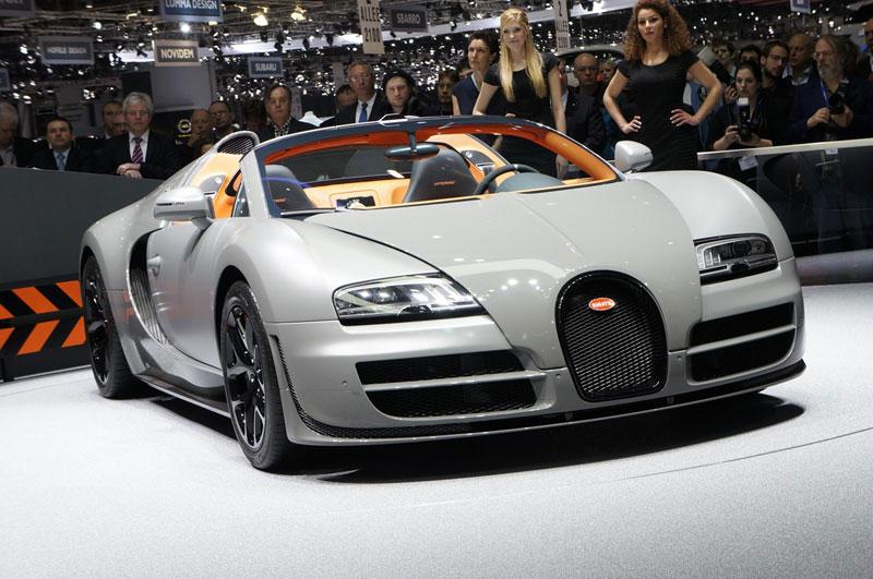 Foto Bugatti Grandsport Salones Salon Ginebra 2012