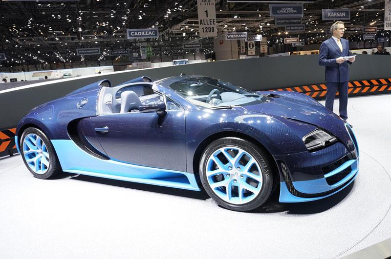 Foto Bugatti Salones Salon Ginebra 2012