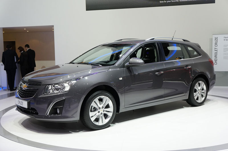 Foto Chevrolet Cruze Sw Salones Salon Ginebra 2012