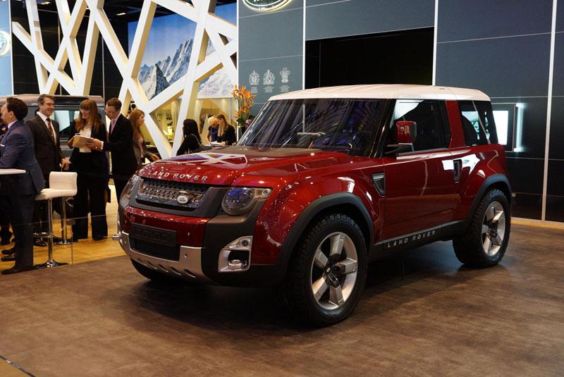 Foto Land Rover Dc Salones Salon Ginebra 2012