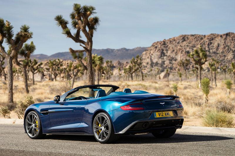 Foto Aston Martin Vanquish Salones Salon Ginebra 2014