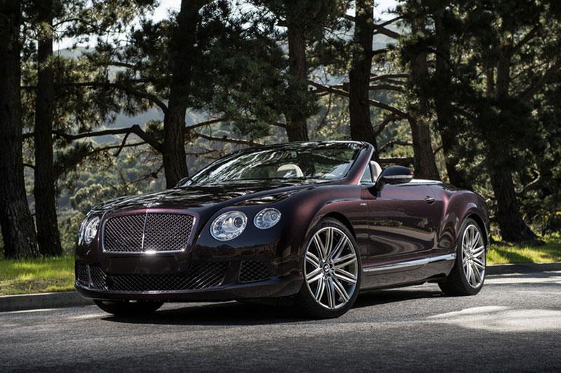 Foto Bentley Continental Gt Speed Convertible Salones Salon Ginebra 2014