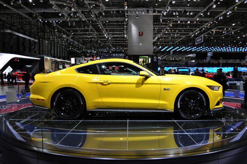 Foto Ford Mustang Salones Salon Ginebra 2014