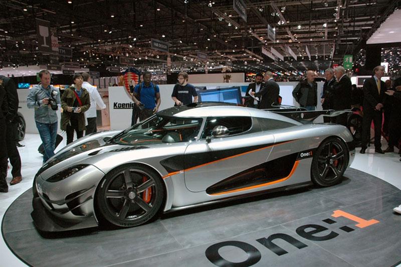 Foto Koenigsegg One Salones Salon Ginebra 2014