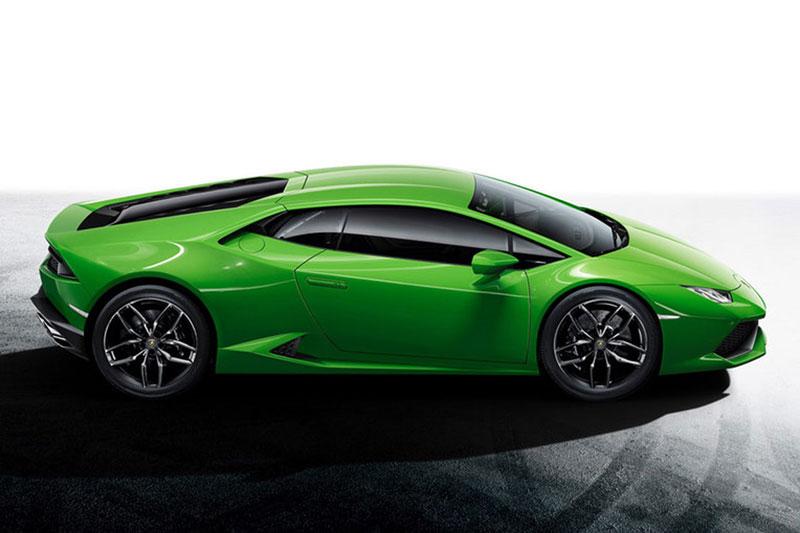 Foto Lamborghini Huracan Lp 610 4 Verde Salones Salon Ginebra 2014