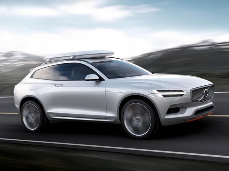 Foto Volvo Concept Xc Coupe Perfil Salones Salon Ginebra 2014
