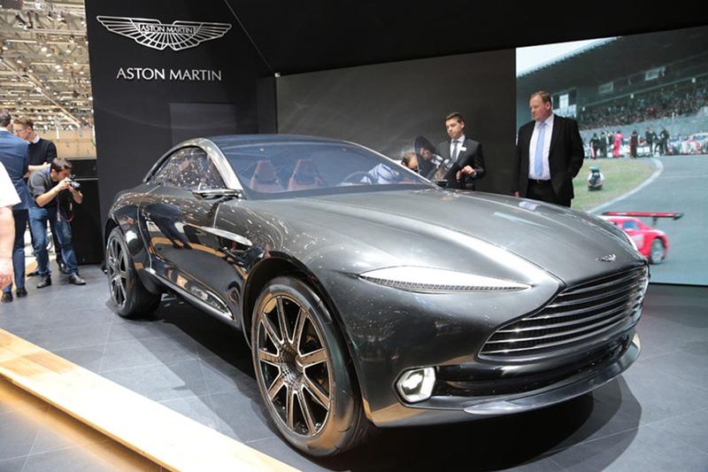 Foto Aston Martin Concept Dbx Salones Salon-ginebra-2015