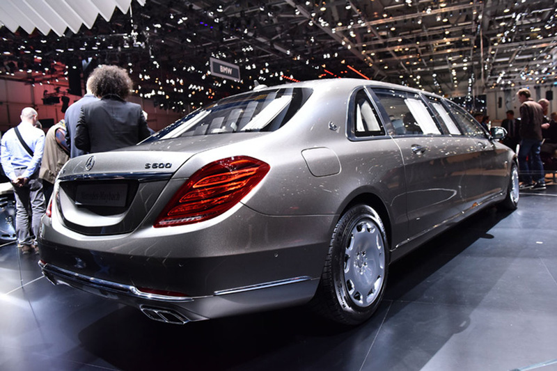 Foto Mercedes Mayback S600 Salones Salon Ginebra 2015