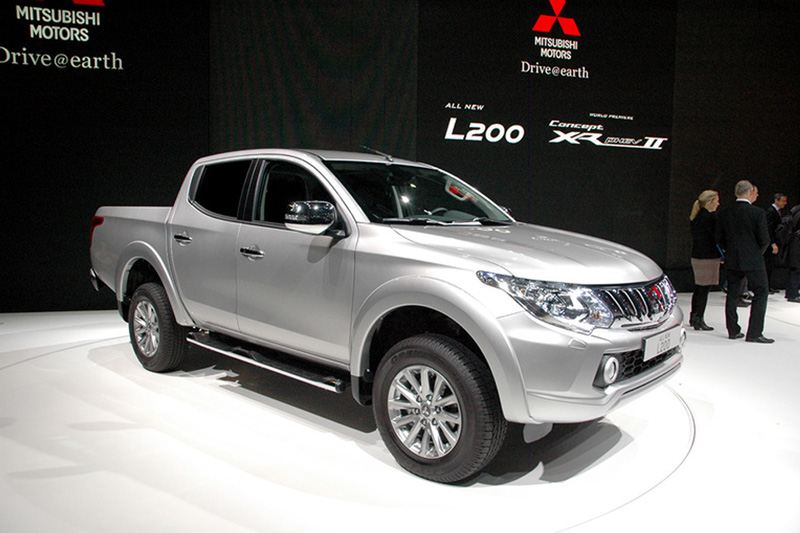 Foto Mitsubishi L200 Pick Up Salones Salon-ginebra-2015