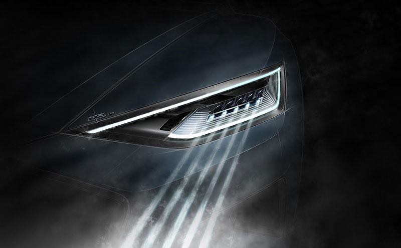 Faros luces láser Audi R8