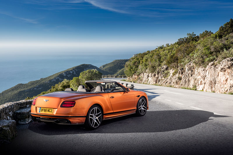 Foto Bentley Continental Supersport Convertible 2017 Trasera Salones Salon-ginebra-2017