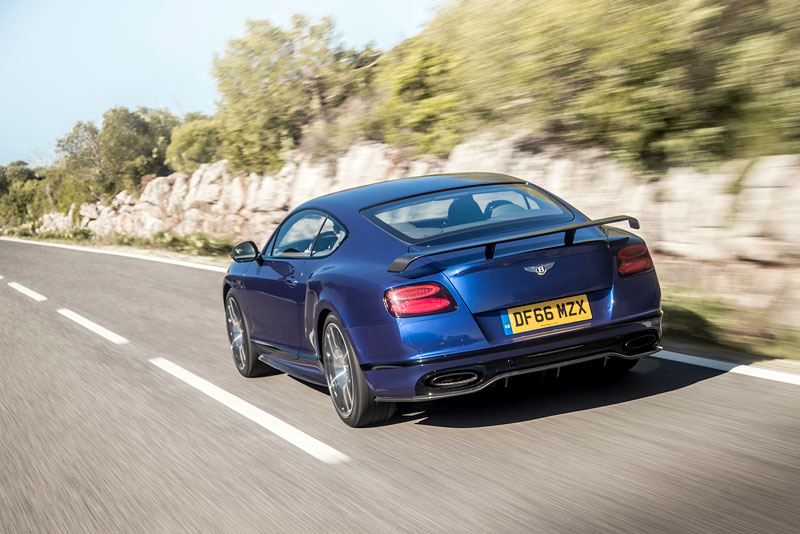 Foto Bentley Continental Supersport Coupe 2017 Trasera Salones Salon-ginebra-2017