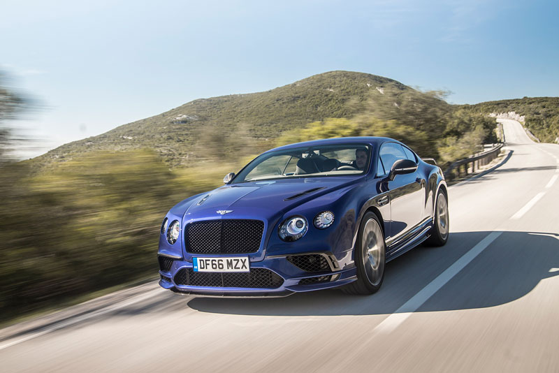 Bentley continental Supersports Coupe 2017