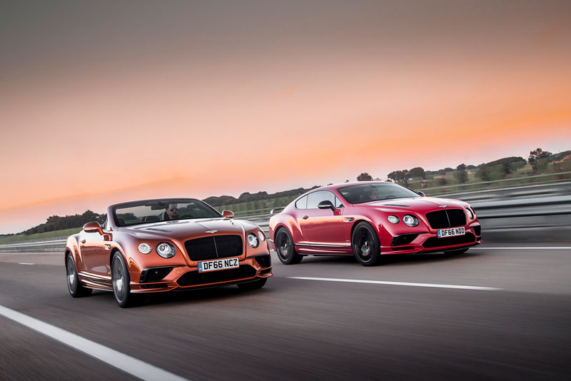 Foto Bentley Continental Supersport Coupe Y Convertible Salones Salon-ginebra-2017