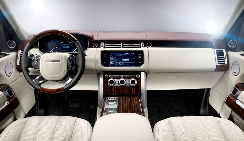 Range Rover 2012 salpicadero