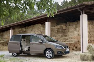 Foto Exteriores  (14) Seat Alhambra Monovolumen 2011