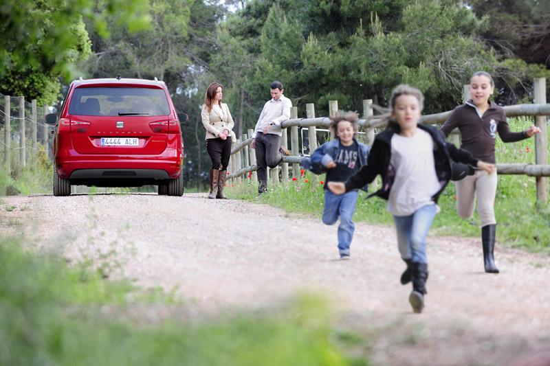 Foto Exteriores Seat Alhambra Monovolumen 2011