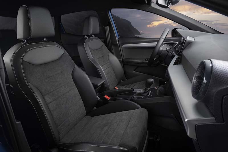 Foto Interiores Seat Ibiza Dos Volumenes .2021
