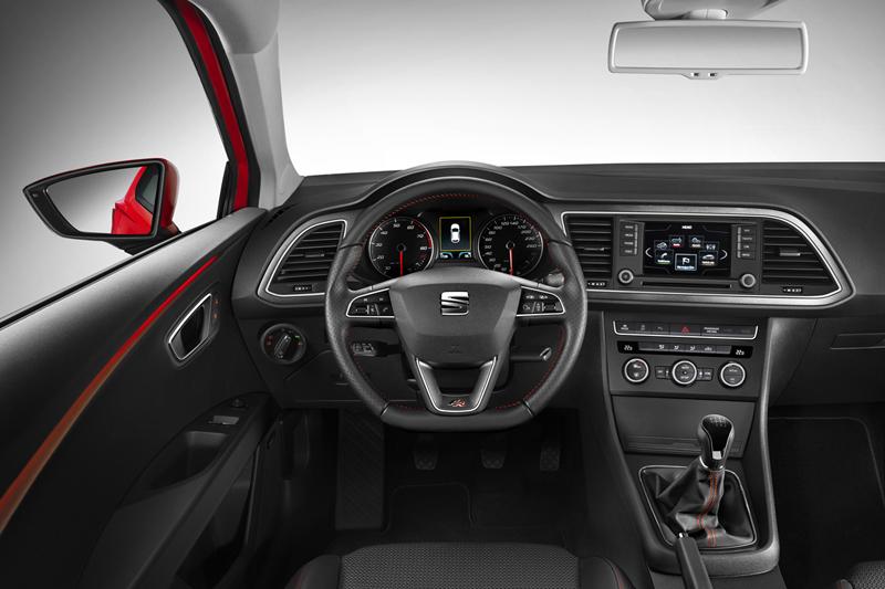Foto Interiores Seat Leon Cupe 2013