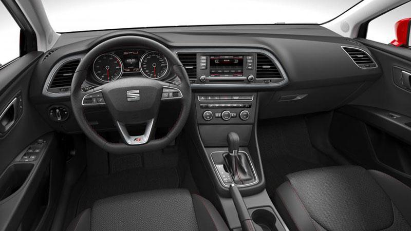 SEAT León 2013 , analisis plazas delanteras