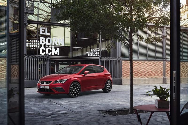 SEAT León delantera