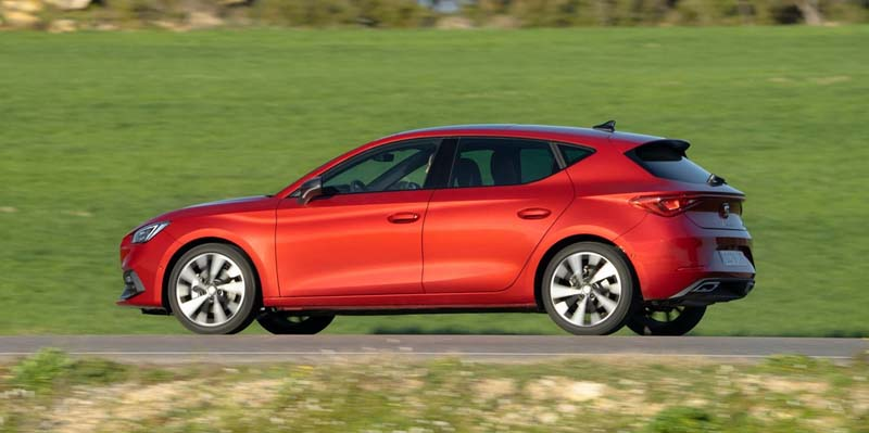 Seat León 2020, foto lateral
