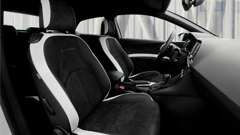 Foto Interiores Seat Leon Cupra 290 Dos Volumenes 2016