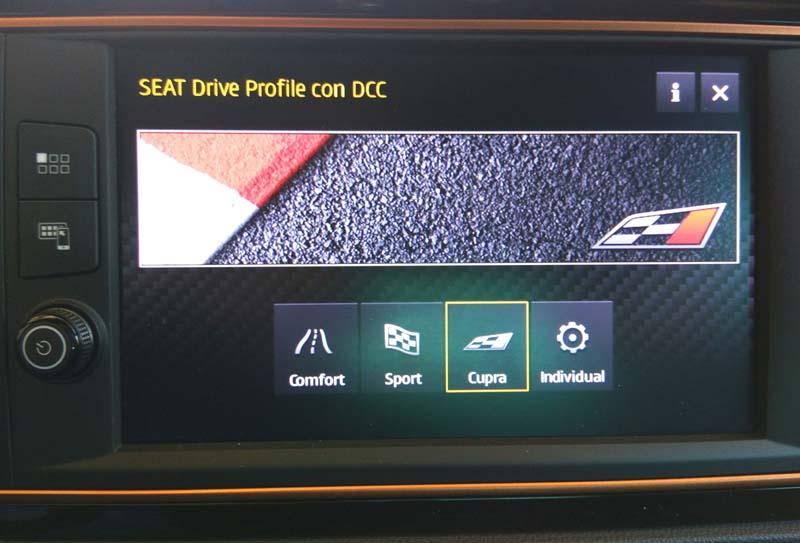 Seat León Cupra R, foto Seat Drive Profile