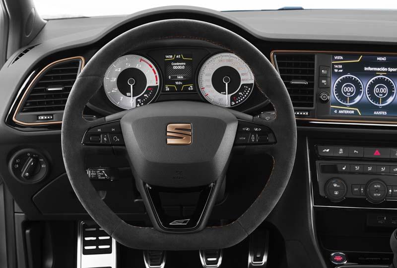 Foto Interiores Seat Leon Cupra R Dos Volumenes 2018