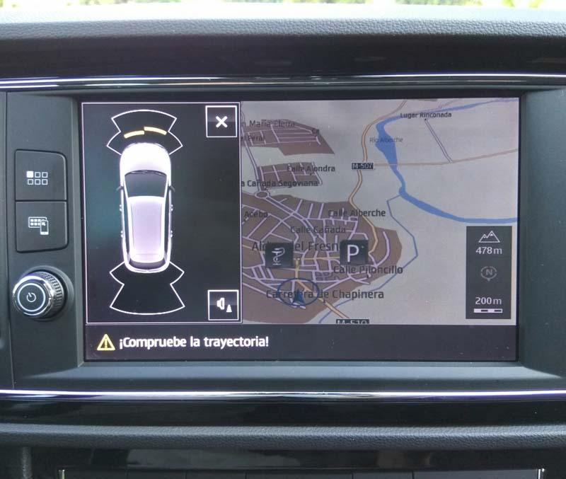 Seat León ST Cupra DSG 2017, foto pantalla táctil