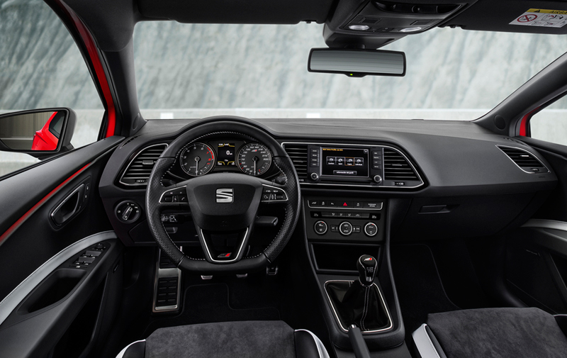 Foto Interiores Seat Leon St Cupra Familiar 2015