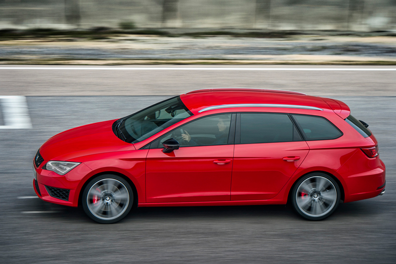 Foto Lateral Seat Leon St Cupra Familiar 2015