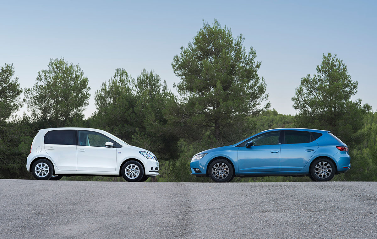 SEAT León TGI y SEAT Mii Ecofuel