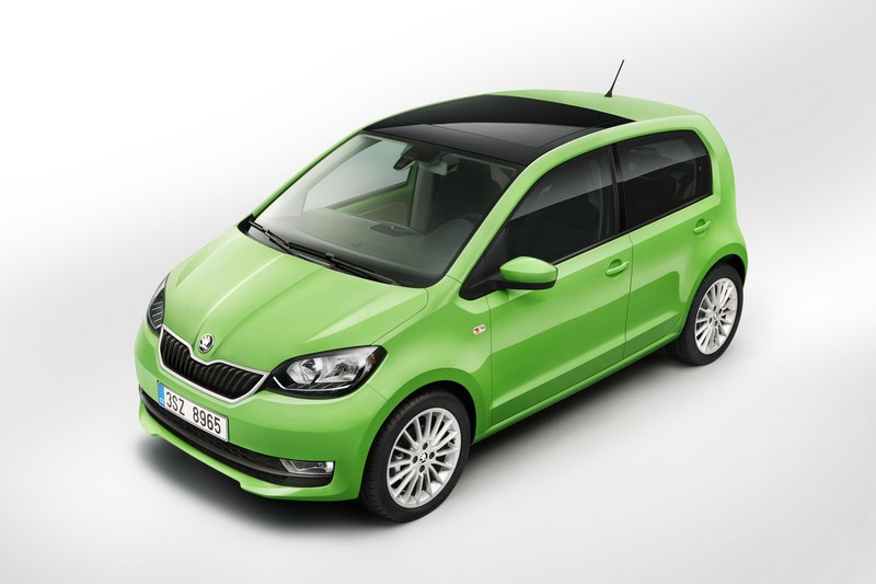 Skoda Citigo vista frontolateral