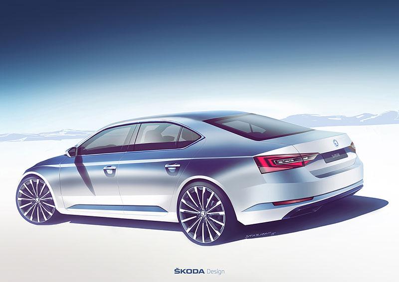 Foto Tecnicas Skoda Superb Sedan 2015
