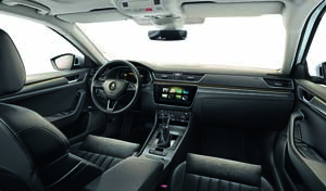 Foto Salpicadero Skoda Superb-combi-iv Familiar 2020