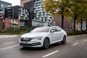 Foto Delantera Skoda Superb-iv Sedan 2020