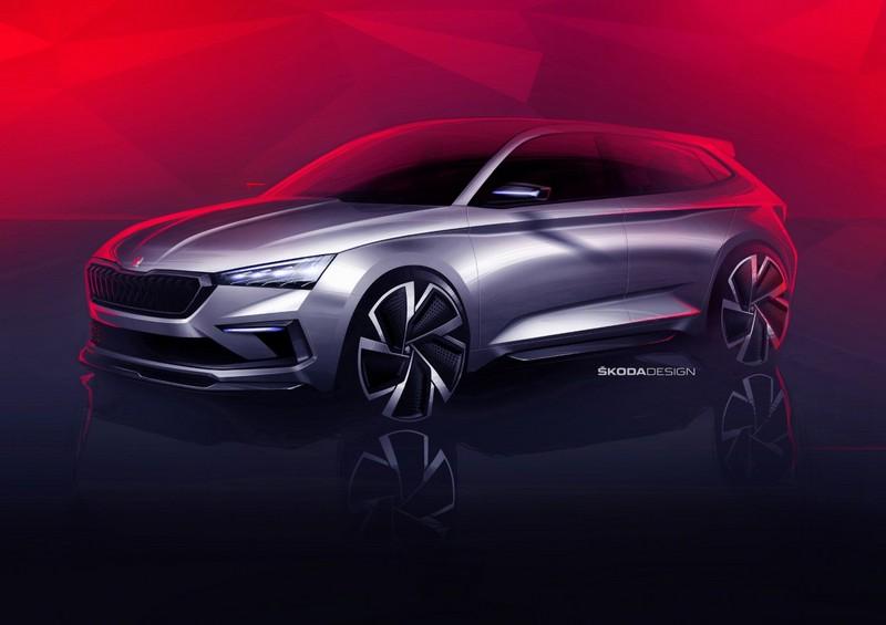 Foto Delantera Skoda Vision Rs Concept 2018