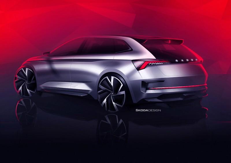 Foto Trasera Skoda Vision-rs Concept 2018