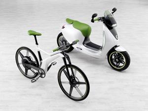 Foto Lateral Smart E-bike Bicicleta 2010
