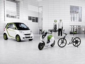 Foto Perfil Smart E-bike Bicicleta 2010