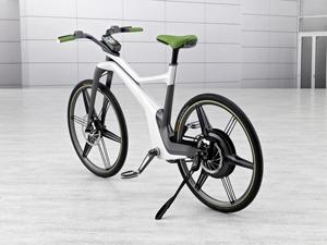 Foto Trasera Smart E-bike Bicicleta 2010